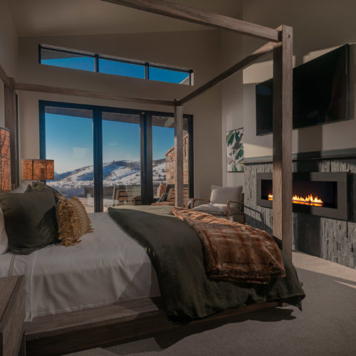 sanctuary utah luxury home bedroom design